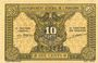 Banknotes Indochine. Billet. 10 cents (1942). Gouvernement général