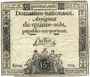 Banknotes Assignat. 15 sols. 24 octobre 1792. Signature : Buttin