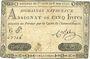 Banknotes Assignat. 5 livres. 1 novembre 1791. Signature : Corsel