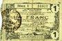 Banknotes Aisne, Ardennes et Marne - Bon régional. Hirson. Billet. 1 franc 14.6.1917, série 2