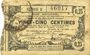 Banknotes Aisne, Ardennes et Marne - Bon régional. Hirson. Billet. 25 cmes 14.6.1917, série 2