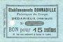 Banknotes Bedarieux (34). Etablissements Donnadile. Fabrique de draps. Billet. 15 cmes