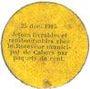 Banknotes Cahors (46). Ville. Guerre 1914. Billet. 5 cmes 26.12.1916