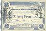 Banknotes Cambrai (59). Ville. Billet. 5 francs 30.10.1914, 2e série : 2 mm