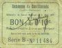 Banknotes Castillonnès (47). Commune. Billet. 10 cmes 8.10.1916, série B