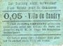 Banknotes Caudry (59). Ville. Billet. 5 centimes