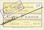 Banknotes Courrières (62). Compagnie des Mines. Billet. 5 francs du 1.3.1915, série EU