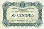 Banknotes Epinal (88). Chambre de Commerce. Billet. 50 centimes 29.5.1920