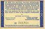 Banknotes Etat Français (1940-1944). Bon de solidatité. 2 francs. Effigie du maréchal Pétain