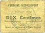 Banknotes Etréaupont (02). Commune. Billet. 10 centimes