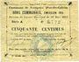 Banknotes Fampoux (62), Commune, billet, 50 cmes 18.3.1915, série A