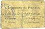 Banknotes Fenain (59). Commune. Billet. 10 centimes
