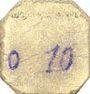 Banknotes Fluquières (02). Commune. Billet. 10 centimes