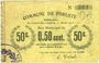 Banknotes Foreste (02). Commune. Billet. 50 centimes 15.4.1915