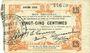 Banknotes Fourmies (59). Bon Régional des Départ. du Nord, Aisne & Oise. Billet. 25 cmes 24.10.1915, 6e série