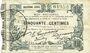 Banknotes Fourmies (59). Bon Régional des Départ. du Nord, Aisne & Oise. Billet. 50 cmes 24.10.1915, 2e série