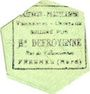 Banknotes Fresnes (59). A l'Indispensable (H. Defroyenne). Billet. 5 kilo de beurre