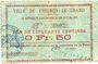 Banknotes Fresnoy-le-Grand (02). Ville. Billet. 50 cmes 15.5.1915