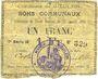 Banknotes Goeulzin (59). Commune. Billet. 1 franc du 31.1.1915, 7e série M