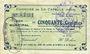 Banknotes La Capelle (02). Commune. Billet. 50 cmes 25.6.1915