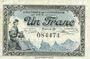 Banknotes Le Puy (43). Chambre de Commerce. Billet. 1 franc 10.10.1916, série D