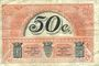 Banknotes Le Puy (43). Chambre de Commerce. Billet. 50 centimes, série D