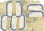 Banknotes Lens (62). Ville. Billet. 1 franc 14.11.1914, essai avec cachet Muster et RM. /bon annulé (...)