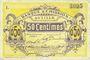 Banknotes Lille (59). Banque d'Emission. Billet. 50 cmes janvier 1915, série L