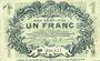 Banknotes Lille (59). Ville. Billet. 1 franc 15.12.1917, série P