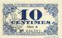 Banknotes Lille (59). Ville. Billet. 10 cmes 31.10.1917, série A