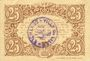 Banknotes Lille (59). Ville. Billet. 25 cmes 13.7.1917, série A