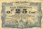 Banknotes Lille (59). Ville. Billet. 25 cmes 13.7.1917, série W