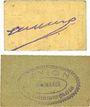 Banknotes Marmande (47). Union des Commerçants. Billets. 5 centimes 1918, 10 centimes