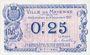 Banknotes Mayenne (53). Ville. Billet. 25 centimes 8.12.1917