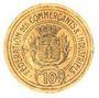 Banknotes Montauban (82). Fédération des Commerçants et Industriels. Billet. 10 centimes
