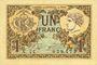 Banknotes Paris (75). Chambre de Commerce. Billet. 1 franc 10.3.1920, série A.44