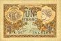 Banknotes Paris (75). Chambre de Commerce. Billet. 1 franc 10.3.1920, série A.57