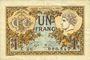 Banknotes Paris (75). Chambre de Commerce. Billet. 1 franc 10.3.1920, série A.80