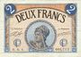 Banknotes Paris (75). Chambre de Commerce. Billet. 2 francs 10.3.1920, série A.4