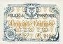Banknotes Pontoise (78). Union du Commerce et de l'Industrie. Billet. 50 centimes, série C. 7
