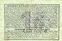 Banknotes Pontru (02). Billet. S.Q.G., 1 franc 8.8.1916