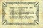 Banknotes Raillencourt-Ste-Olle (59). Commune. Billet. 1 franc 16.12.1915, série A
