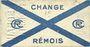 Banknotes Reims (51). Change Rémois. Billet. 25 centimes août 1914