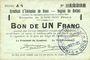 Banknotes Rethel (08). Syndicat d'Emission. Billet. 1 franc 12.7.1916, série A 4