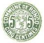 Banknotes Roncq (59). Commune. Billet. 5 centimes