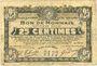 Banknotes Roubaix et Tourcoing (59). Billet. 25 centimes 16.12.1916, 9e série, n° 510