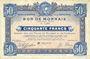 Banknotes Roubaix et Tourcoing (59). Billet. 50 francs du 20.4.1916, 7e série. N° 5204