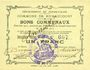 Banknotes Rumaucourt (62). Commune. Billet. 1 franc 16.8.1915, mention Annulé manuscrite