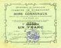 Banknotes Rumaucourt (62). Commune. Billet. 1 franc 20.12.1914