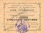 Banknotes Rumaucourt (62). Commune. Billet. 50 centimes 20.12.1914, mention annulé manuscrite